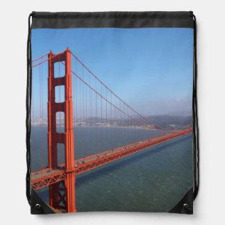 Golden Gate National Recreation area Drawstring Bag
