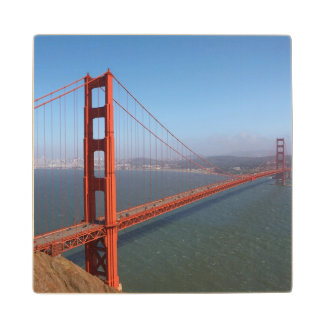 Golden Gate National Recreation area Maple Wood Coaster