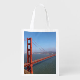 Golden Gate National Recreation area Reusable Grocery Bag