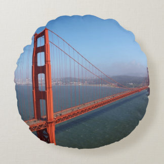 Golden Gate National Recreation area Round Cushion