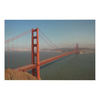 Golden Gate National Recreation area Wood Print