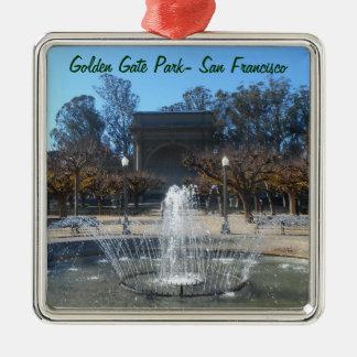 Golden Gate Park, San Francisco Christmas Ornament