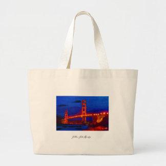 Golden_Gate_Poster.jpg Large Tote Bag