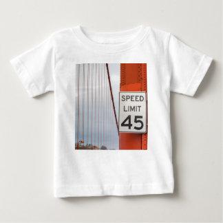 golden gate speed limit baby T-Shirt