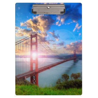 Golden Gate Sunrise Clipboard