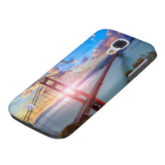 Golden Gate Sunrise Galaxy S4 Case