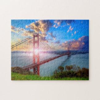 Golden Gate Sunrise Jigsaw Puzzle
