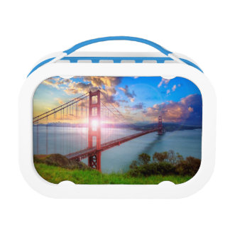 Golden Gate Sunrise Lunch Boxes