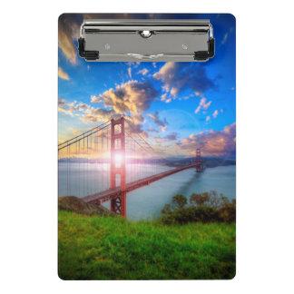 Golden Gate Sunrise Mini Clipboard