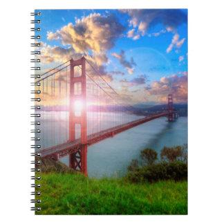 Golden Gate Sunrise Notebooks