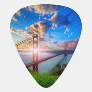 Golden Gate Sunrise Plectrum