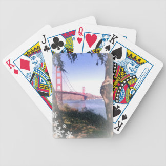 Golden Gate Winter Playing Cards