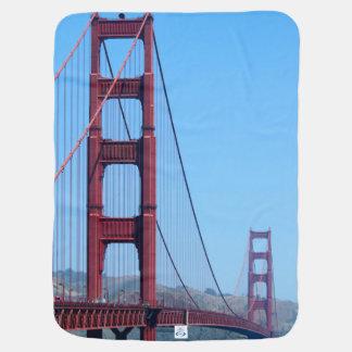 Golden Gate Swaddle Blanket