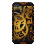Golden Gears 2 Case For iPhone 4