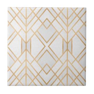Golden Geo Tile