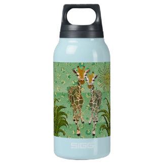 Golden Giraffes Jade Liberty Bottle 10 Oz Insulated SIGG Thermos Water Bottle