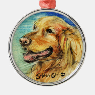 Golden Girl Ornament