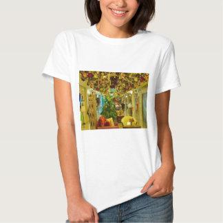 Golden glitter for Christmas joy T-Shirt