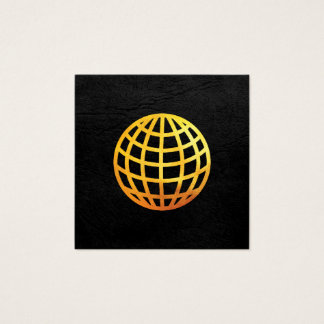 Golden Globe | Executive Square Business Card