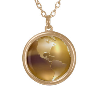 Golden Globe Necklace