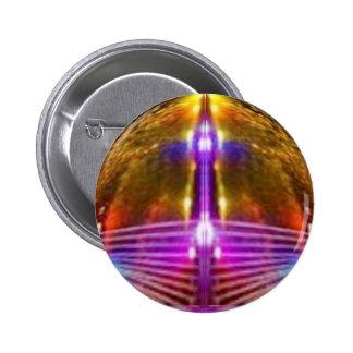 Golden Globe : Star Sparkle 6 Cm Round Badge