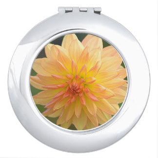 Golden Glory Compact Mirror