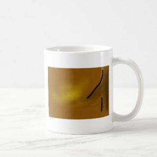 Golden Glow Abstract Coffee Mug