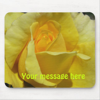 Golden Glow Mouse-Pad Mouse Pad