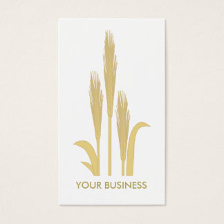 Golden Grains of Wheat Business Card