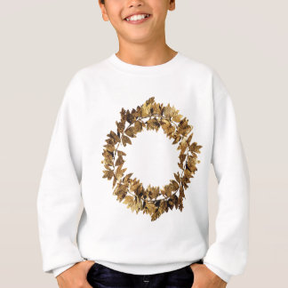 Golden Greek King Crown Sweatshirt