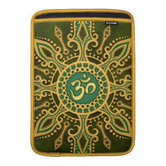 Golden Green Aum Star Sleeve For MacBook Air