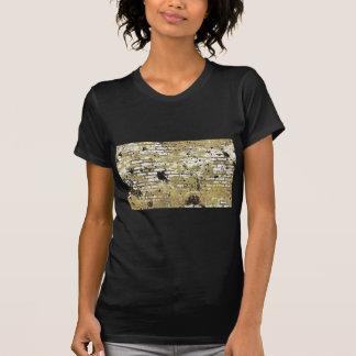 GOLDEN GRUNGE BRICK WALL TEMPLATE CITY INNER GANGS T-Shirt