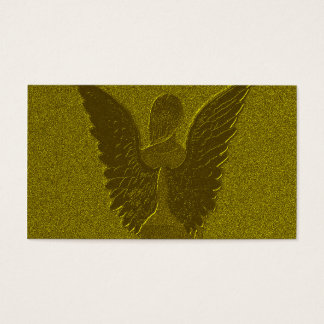 Golden Guardian Angel Business Card