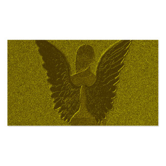 Golden Guardian Angel Pack Of Standard Business Cards