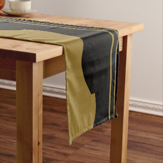 Golden Guitar Short Table Runner