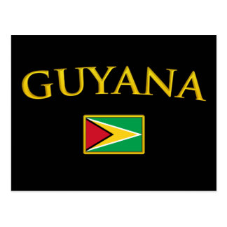 Golden Guyana Postcard