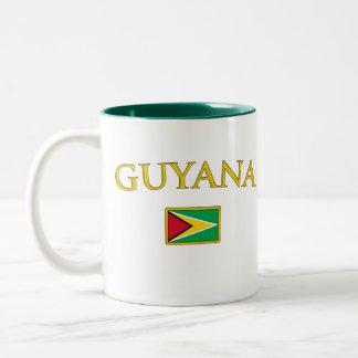 Golden Guyana Two-Tone Coffee Mug