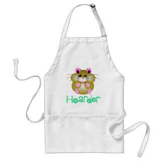 """Golden Hamster - """"Hoarder"""" Adult Apron"""