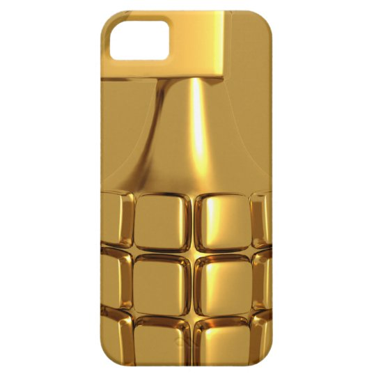 Golden Hand Grenade iPhone 5 Case