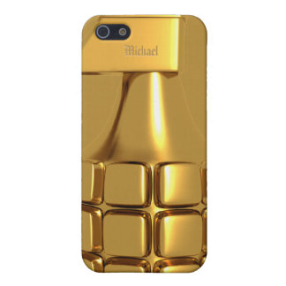 Golden Hand Grenade Cover For iPhone 5/5S