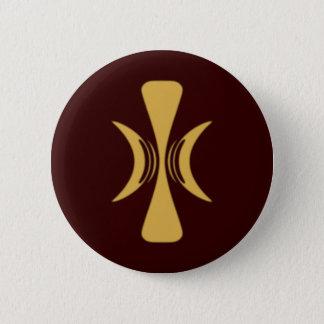 Golden Hand of Eris 6 Cm Round Badge