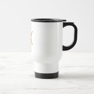 Golden Hand of Eris Stainless Steel Travel Mug