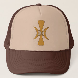 Golden Hand of Eris Trucker Hat