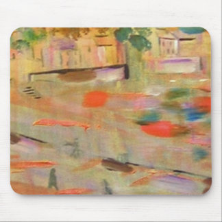 Golden Harbour Abstract Mousemats