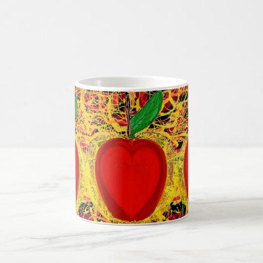 Golden Heart Apples Coffee Mug