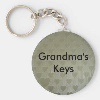 Golden Hearts Key Ring