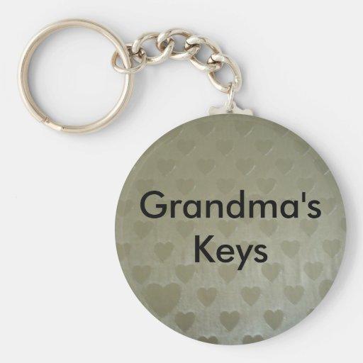 Golden Hearts Keychains