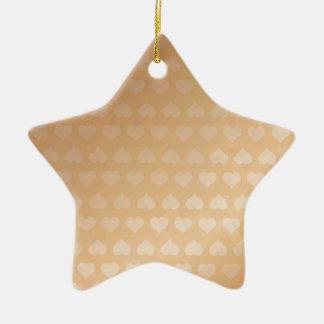 GOLDEN Hearts Light Shade by NAVIN JOSHI Gifts Ceramic Star Decoration