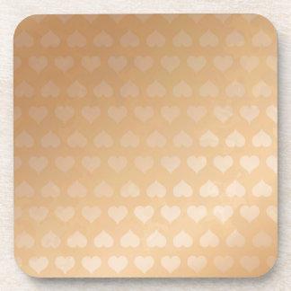 GOLDEN Hearts Light Shade by NAVIN JOSHI Gifts Coaster