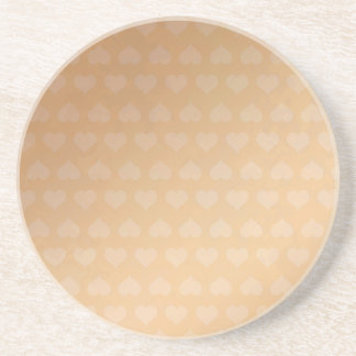 GOLDEN Hearts Light Shade by NAVIN JOSHI Gifts Drink Coaster